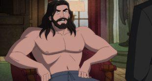 A Shirtless Bruce Wayne Returns in Harley Quinn Batman's Back Man