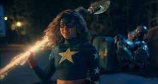 Brec Bassinger as Courtney Whitmore dressed in full Stargirl attire