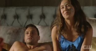 Murphy and Emori in bed