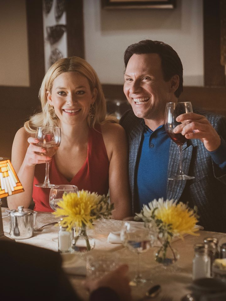 Left to Right: Amanda Peet as Betty Broderick and Christian Slater as Dan Broderick