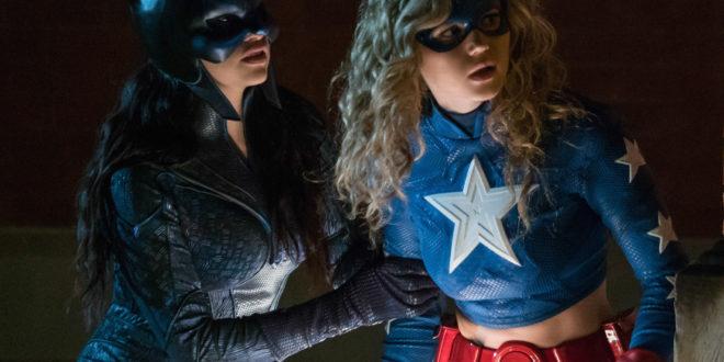 Wildcat and Stargirl in Episode 4: Wildcast