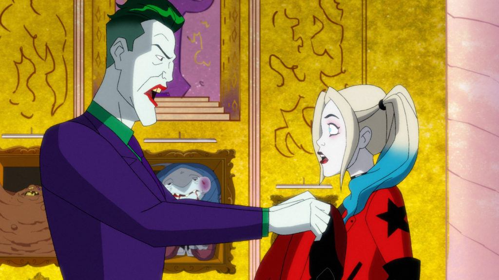 Joker is angry at the old Harley Quinn.