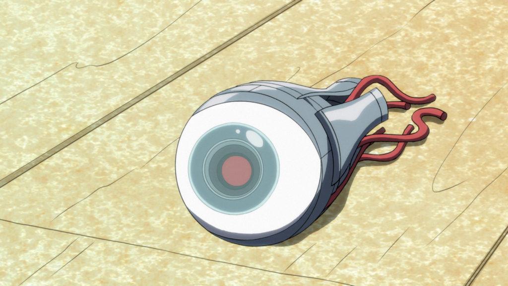 Sy Borgman's Eye.