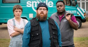 Nick Frost stars as Gus in Truth Seekers