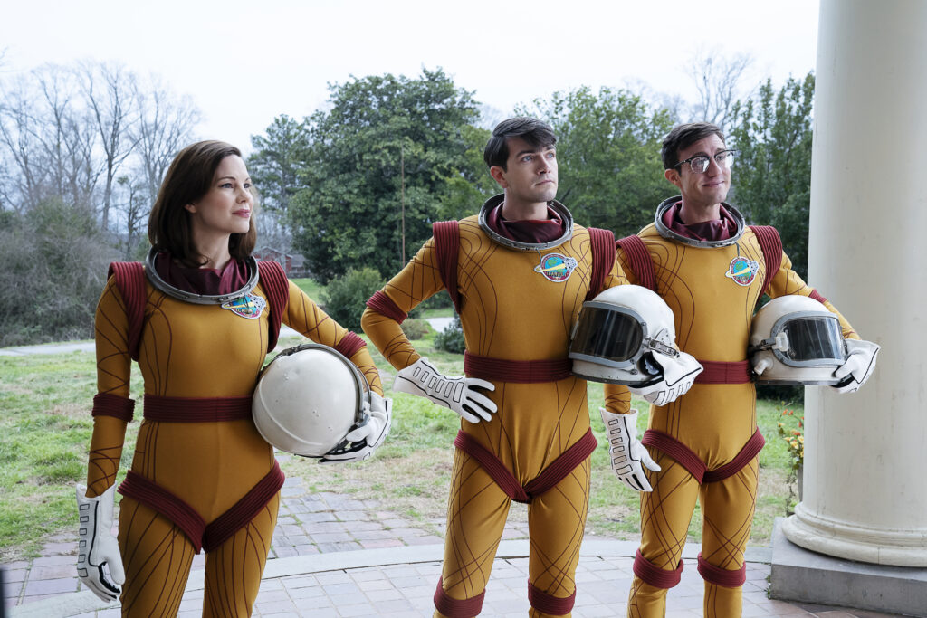 The three Astronauts. Left to Right: Moscow, Zipp, and Specs.