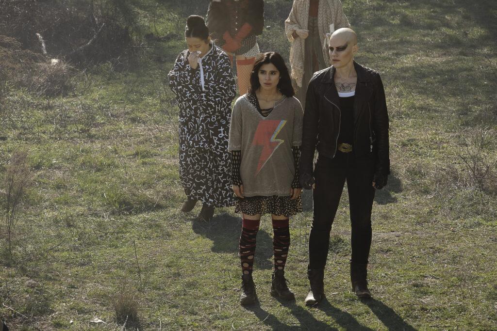 Left to Right: Diane Guerrero as Jane and Stephanie Czajkowski