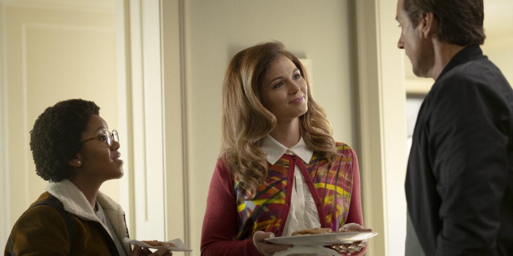 Anjelika Washington at Beth Chapel. Lesa Wilson as Bobbie Burman. Luke Wilson Pat Dugan Stargirl Episode 8