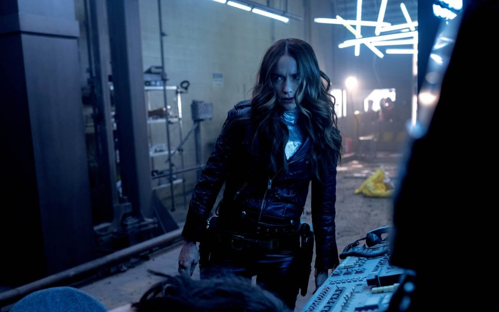 Wynonna Earp in Season 4 Episode 2 as she gets things done!