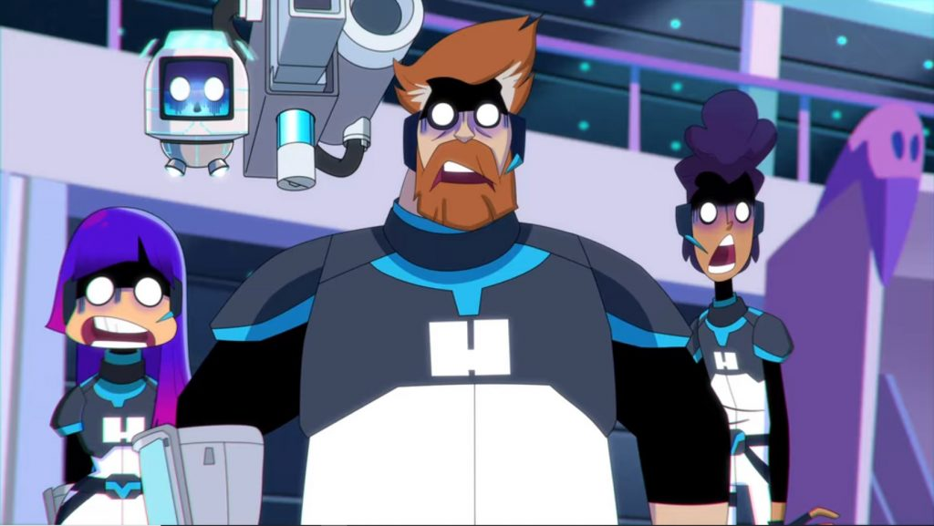 Miko, Phil, and Hi-5 surprised in Glitch Techs Season 2