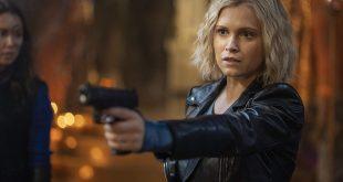 Clarke with a gun