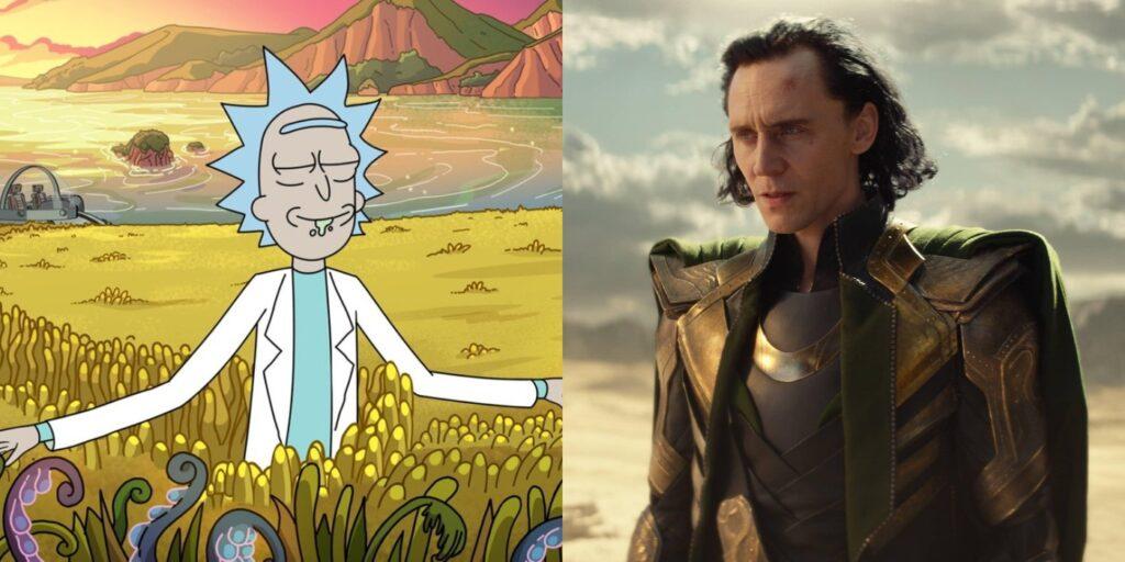 Rick Sanchez and Loki